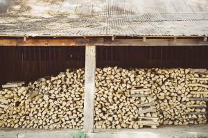 brennholz-aufbewahrung